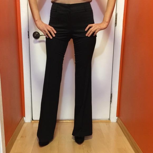 ca371dca523a Burberry London high waist wide leg trousers